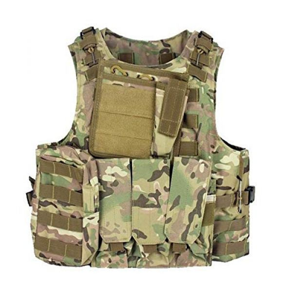 Shefure Airsoft Tactical Vest 4 Shefure Camouflage Tactical Amphibious Vest Military Army Combat Airsoft Paintball Sport Body Armor Molle Hunting Vest 8 Colors