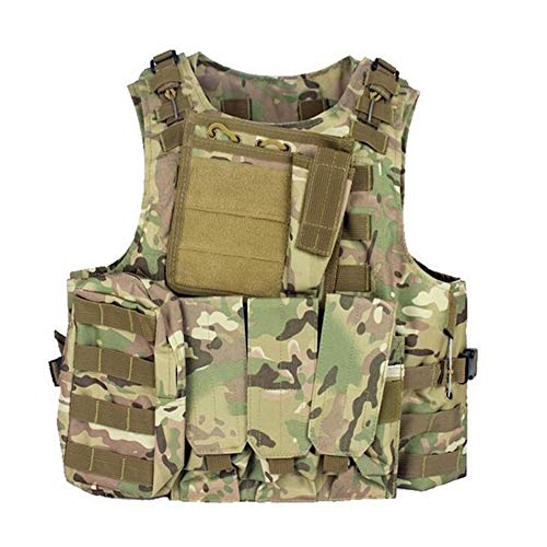 Redland Art Airsoft Tactical Vest 4 Redland Art Camouflage Tactical Amphibious Vest Military Army Combat Airsoft Paintball Sport Body Armor Molle Hunting Vest 8 Colors Airsoft Tactical Vest
