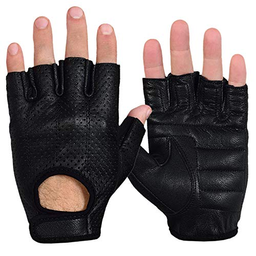 Max5 Airsoft Glove 1 Max5 Men's Fingerless Motorcycle Gloves