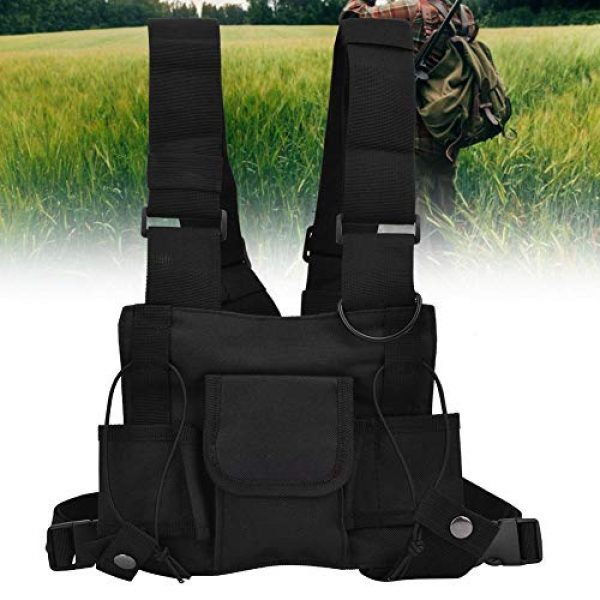 Alomejor Airsoft Tactical Vest 5 Alomejor Airsoft Vest Paintball Airsoft Protector Training Vest Waistcoat for Outdoor Camping Fishing Hiking Airsoft War Game