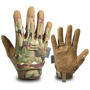 WTACTFUL Airsoft Glove 1 WTACTFUL Rubber Guard Protective Full Finger Tactical Gloves for Airsoft Hunting Cycling Motorbike