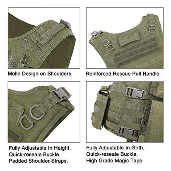 MGFLASHFORCE Airsoft Tactical Vest 5 MGFLASHFORCE Tactical CS Field Vest, Airsoft Paintball Vest