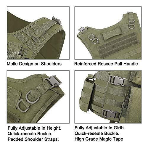 MGFLASHFORCE Airsoft Tactical Vest 3 MGFLASHFORCE Tactical CS Field Vest