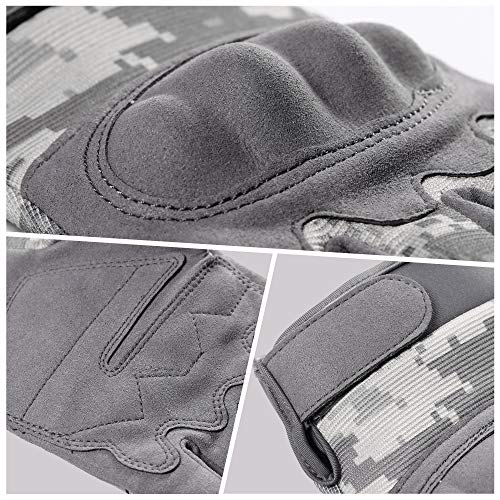 WTACTFUL Airsoft Glove 6 WTACTFUL Touchscreen Tactical Gloves for Airsoft Paintball Motorbike Work