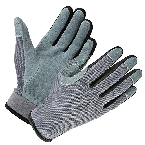 KZZKYMX Airsoft Glove 2 KZZKYMX Genuine Deerskin Snug-fit Multifunction Work Gloves with Touch Screen Fingertips for Working
