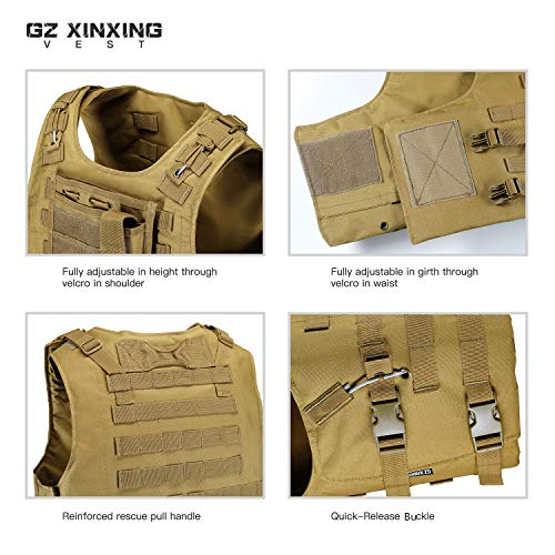 GZ XINXING Airsoft Tactical Vest 6 GZ XINXING 100% Full Refund Assurance Tactical Airsoft Vest