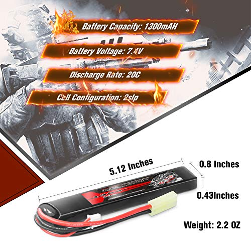 High Capacity Lipo Battery Pack