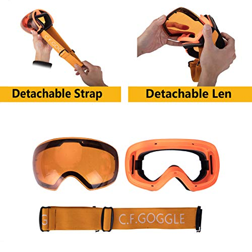 DODOING Airsoft Goggle 4 DODOING Ski Goggles