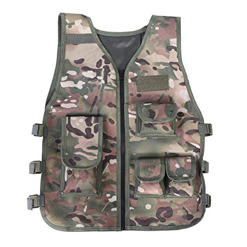 Keenso Airsoft Tactical Vest 2 Keenso Camouflage Vest