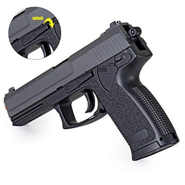 BBTac Airsoft Pistol 6 bbtac m23 airsoft gun mark23 spring airsoft pistol with warranty(Airsoft Gun)