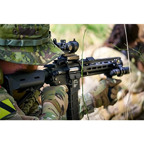 Black Ops Airsoft Rifle 7 Black Ops Airsoft Guns Rifle- Electric Full Metal M4 Viper Elite Upgraded