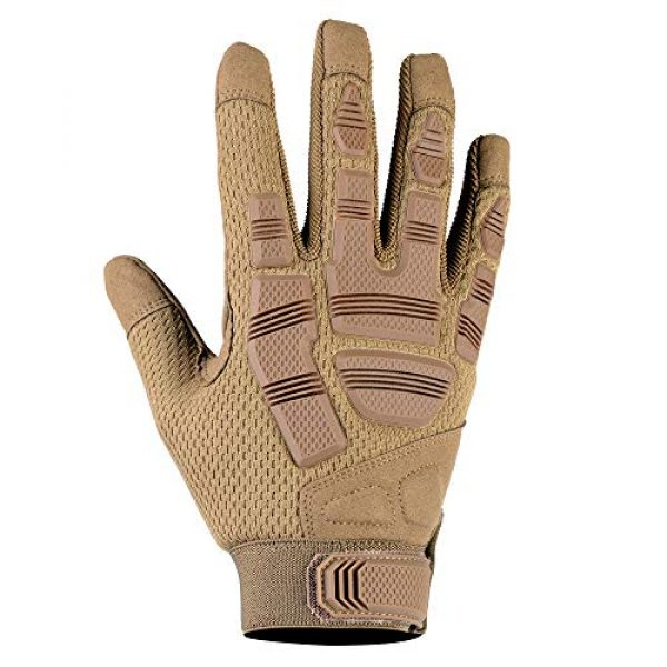 AXBXCX Airsoft Glove 2 AXBXCX Camouflage Full Finger Outdoor Gloves for Men