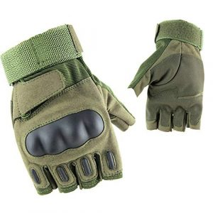 DDK Airsoft Glove 1 DDK Military Army Tactical Gloves Airsoft Hunting Fingerless Hard Knuckle Combat Gloves Men Hiking Cycling Gloves