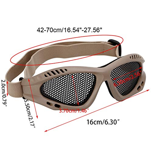 Oranmay Airsoft Goggle 7 Oranmay Eye Protection Goggles Anti Fog Mesh Glasses for Motorcycle Airsoft