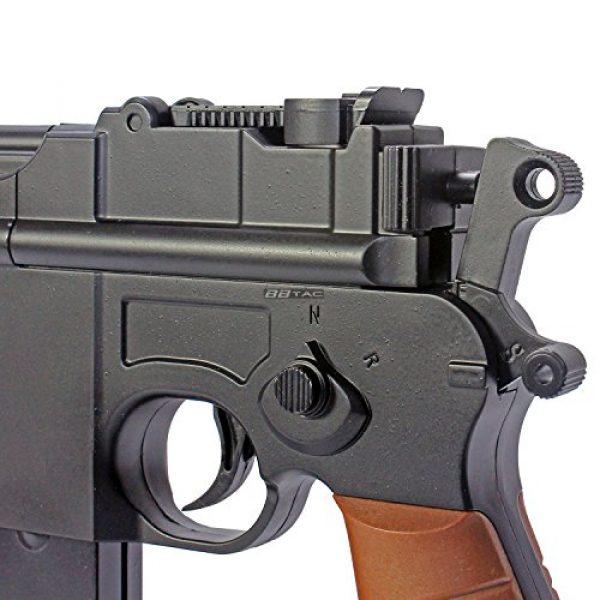 BBTac Airsoft Pistol 6 BBTac BT-712 World War II 165 FPS C96 Metal Zinc Alloy Airsoft Pistol with Magazine