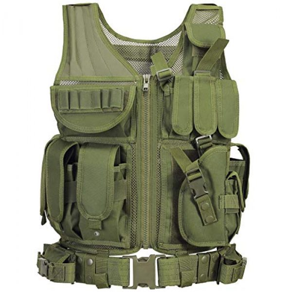 GZ XINXING Airsoft Tactical Vest 2 GZ XINXING S - 4XL Law Enforcement Tactical Airsoft Paintball Vest