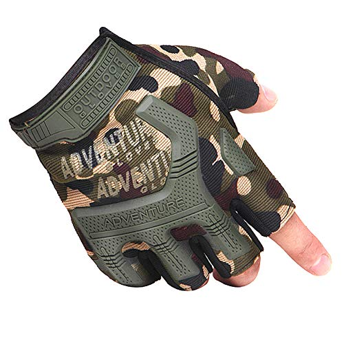 Norbi Airsoft Glove 1 Norbi Tactical Gloves Half Finger Military Rubber Protective Handwear Cycling Outdoor Motorcycle Gloves