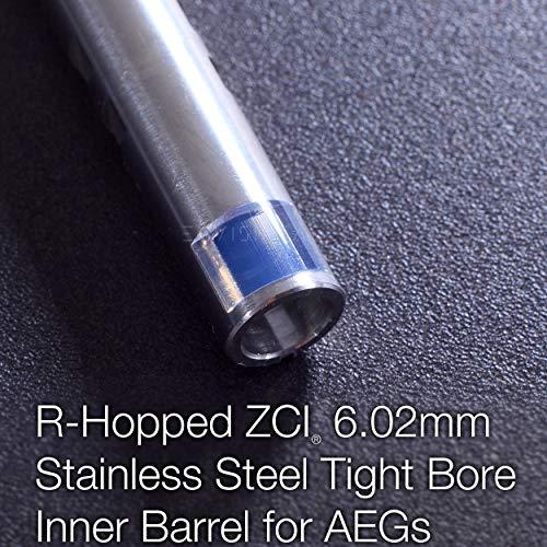 Elvish Tac Airsoft Barrel 2 Elvish Tac R-Hopped ZCI 6.02mm Tightbore Barrel + Modify Flat-Hop Bucking AEG R-Hop RHop