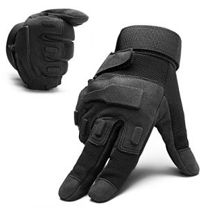 SHAPA Airsoft Glove 1 Military Tactical Gloves Full Finger Rubber Hard Knuckle Gloves for Hunting Airsoft Paintball