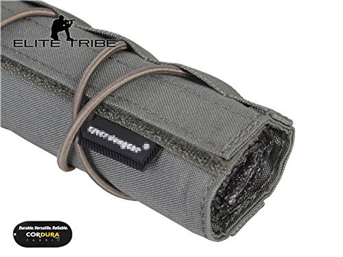Elite Tribe Airsoft Tool 4 Elite Tribe Military Hunting Tactical 22cm Airsoft Suppressor Cover Silencer Cover