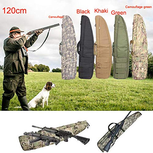 """Yamcyh Airsoft Gun Case 4 Yamcyh 39""""/47"""" Outdoor Military Carry Nylon Case Hunting Airsoft Tactical Rifle Gun Bag Heavy Duty Hunting Shotgun Case Carrying Military Shoot Soft Bag"""