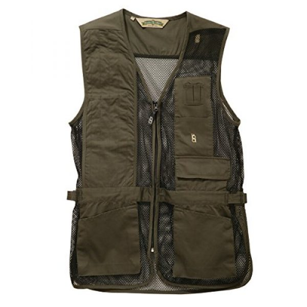 Bob-Allen Airsoft Tactical Vest 1 Bob-Allen Shooting Vest, Right Handed, Sage, X-Large