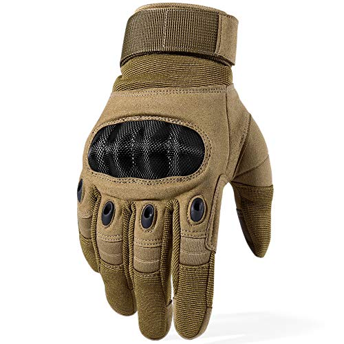 WTACTFUL Airsoft Glove 2 WTACTFUL Touch Screen Motorcycle Full Finger Gloves for Cycling Motorbike ATV Hunting Hiking Riding Climbing Operating Work Sports Gloves