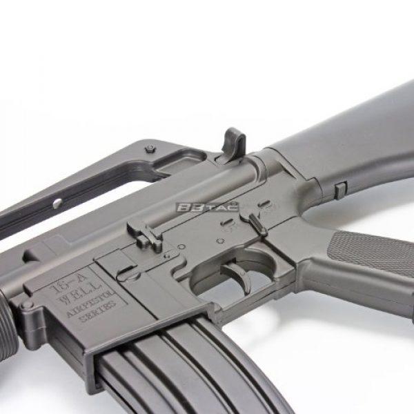 BBTac Airsoft Rifle 7 BBTac m16a2 airsoft gun vietnam style spring airsoft gun rifle with warranty(Airsoft Gun)