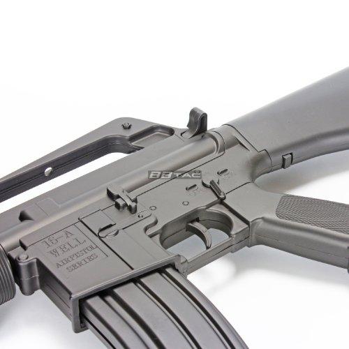 BBTac  7 BBTac m16a2 airsoft gun vietnam style spring airsoft gun rifle with warranty(Airsoft Gun)