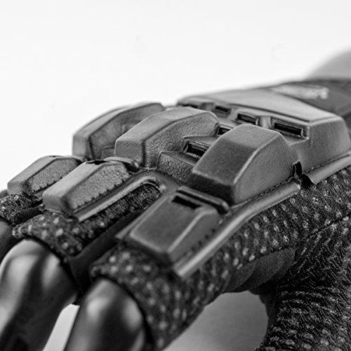 Valken Airsoft Glove 3 Valken V-TAC Half Finger Plastic Back Airsoft Gloves