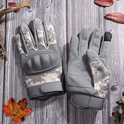 WTACTFUL Airsoft Glove 7 WTACTFUL Touchscreen Tactical Gloves for Airsoft Paintball Motorbike Work