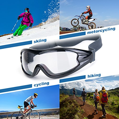 Viriber Airsoft Goggle 2 Viriber Safety Sunglasses Motorcycle Glasses Tactical Sunglasses dust Goggles Anti-Fog Glasses