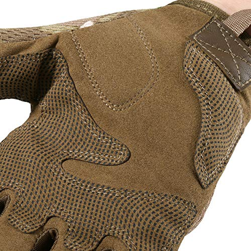 YOSUNPING Airsoft Glove 7 YOSUNPING Tactical Full Finger Gloves Touchscreen for Motorcycle Hiking Cycling Climbing
