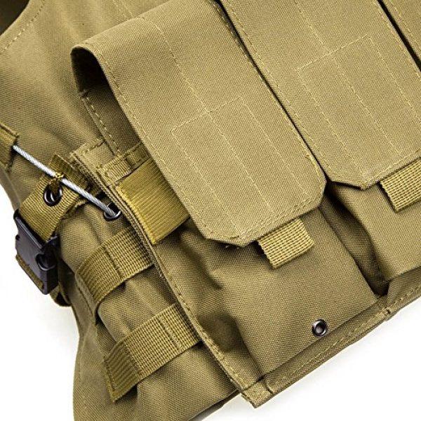 XIAOWANG Airsoft Tactical Vest 6 XIAOWANG PUBG Tactical Vest Paintball Airsoft Chest Protector Tactical Vest Outdoor Sports Body Armor