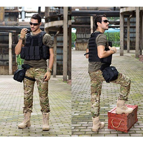 ArcEnCiel Airsoft Tactical Vest 3 ArcEnCiel Tactical Molle Vest, Black