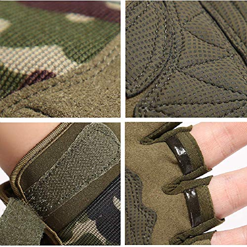 Knuckle Protective Breathable Lightweight Outdoor Military Gloves for Shooting