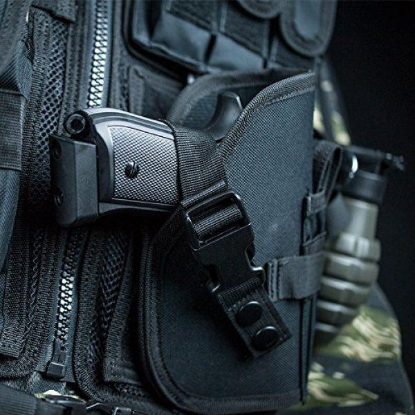Valken Airsoft Tactical Vest 2 Valken Tactical Crossdraw Vest - Adult - Black