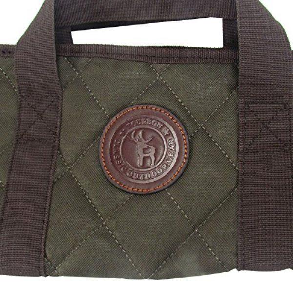 TOURBON Rifle Case 6 TOURBON Nylon Gun Case for Shotgun Rifle with Zipper Pocket