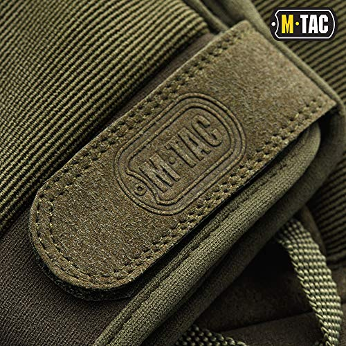 M-Tac Airsoft Glove 7 M-Tac Tactical Gloves Full Finger Assault Airsoft Protective Gear