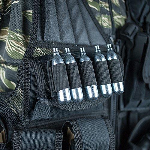 Valken Airsoft Tactical Vest 5 Valken Tactical Crossdraw Vest - Adult - Black