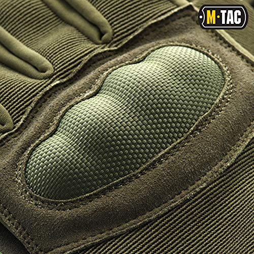 M-Tac Airsoft Glove 6 M-Tac Tactical Gloves Full Finger Assault Airsoft Protective Gear