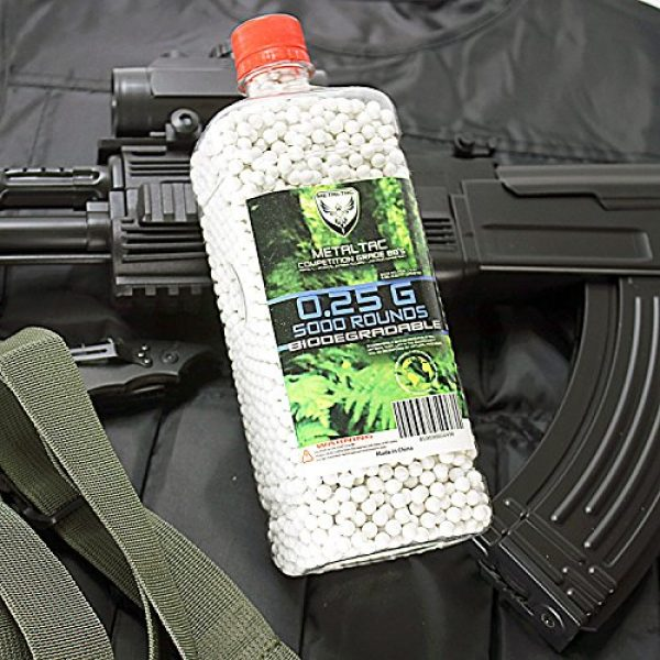 MetalTac Airsoft BB 3 MetalTac Airsoft BBS 6mm for Airsoft Guns Perfect Grade Percision Accurate Premium BB Pellets (.12g .20g .25g .30g Bio-Degradable)
