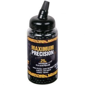 Crosman Maximum Precision 6mm Airsoft BBs 2,000 Count Bottle