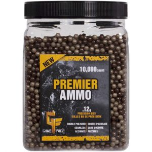 Crosman Premier 0.12g 6mm Camo Airsoft BBs 10000 Count