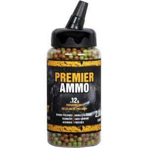 Crosman Premier 0.12g 6mm Camo Airsoft BBs
