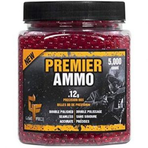 Crosman Premier 0.12g 6mm Red Airsoft BBs 5000 Count