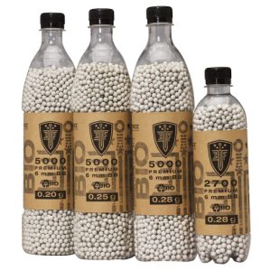 Elite Force Premium Biodegradable 6mm Airsoft BBs in Bottles