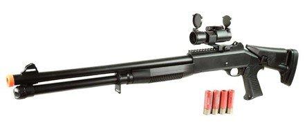 Double Eagle  1 double eagle m186a m1014 s90 cqb airsoft shotgun 385-fps airsoft gun(Airsoft Gun)
