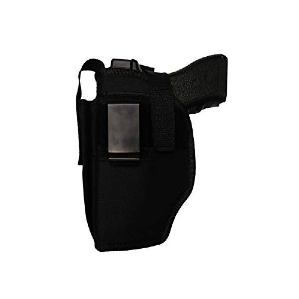 PRO TACTICAL  1 PRO TACTICAL Gun Holster Belt Clip OWB for HI-Point 45 ACP with Extra Magazine Pouch