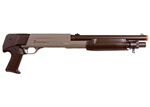 Marines Airsoft  2 marines ss02 triple shot pump shotgun 350 fps (2)(Airsoft Gun)
